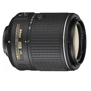 Nikon AF-S DX 55-200mm f/4-5.6G ED VR II Lens
