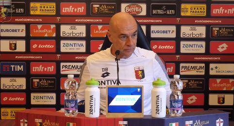 """Ballardini: """"Izzo e Spolli ok. Perin out Farò turn over. Rossi buono per l' anno prossimo"""""""