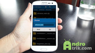Extrack File zip di Android