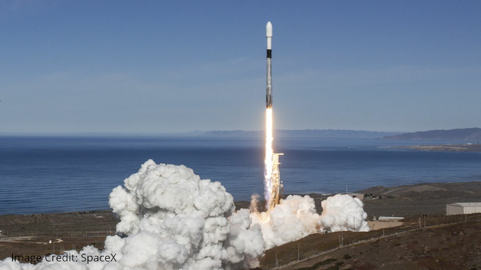 SpaceX launches 57 More Starlink Satellites From Kennedy Space Center
