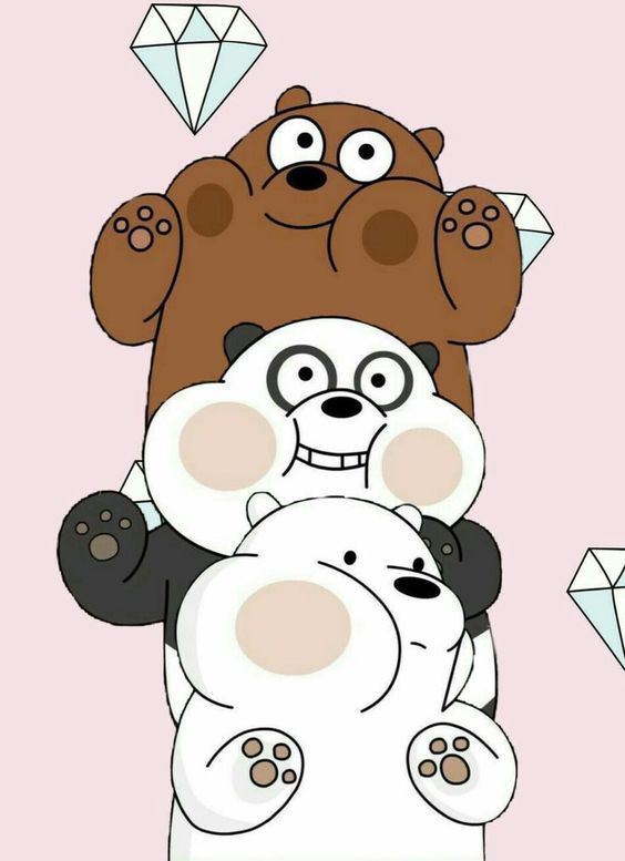 We bare bears cute