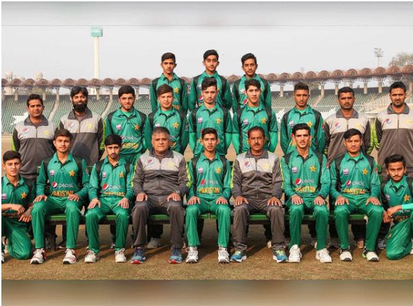 Pakistan Under 16 Cricket Team Dubai's departure against Australia's