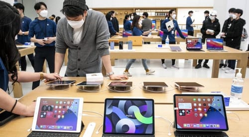 Apple's market value could reach $3 trillion in 2022