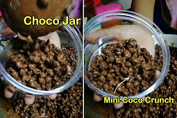 Resepi Choco Jar Dengan Rasa Manis Coklat Yang Mudah Disediakan