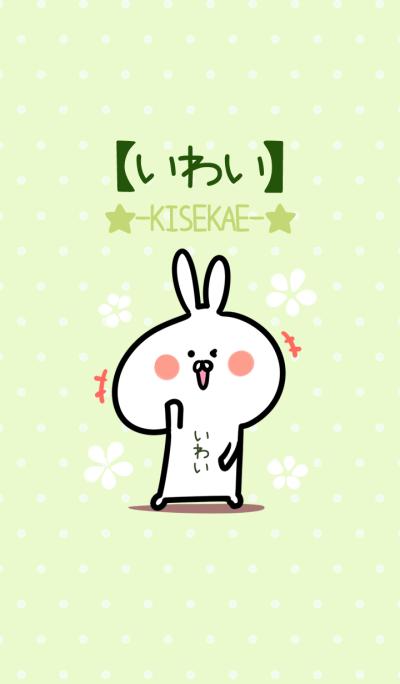 Iwai usagi green Theme