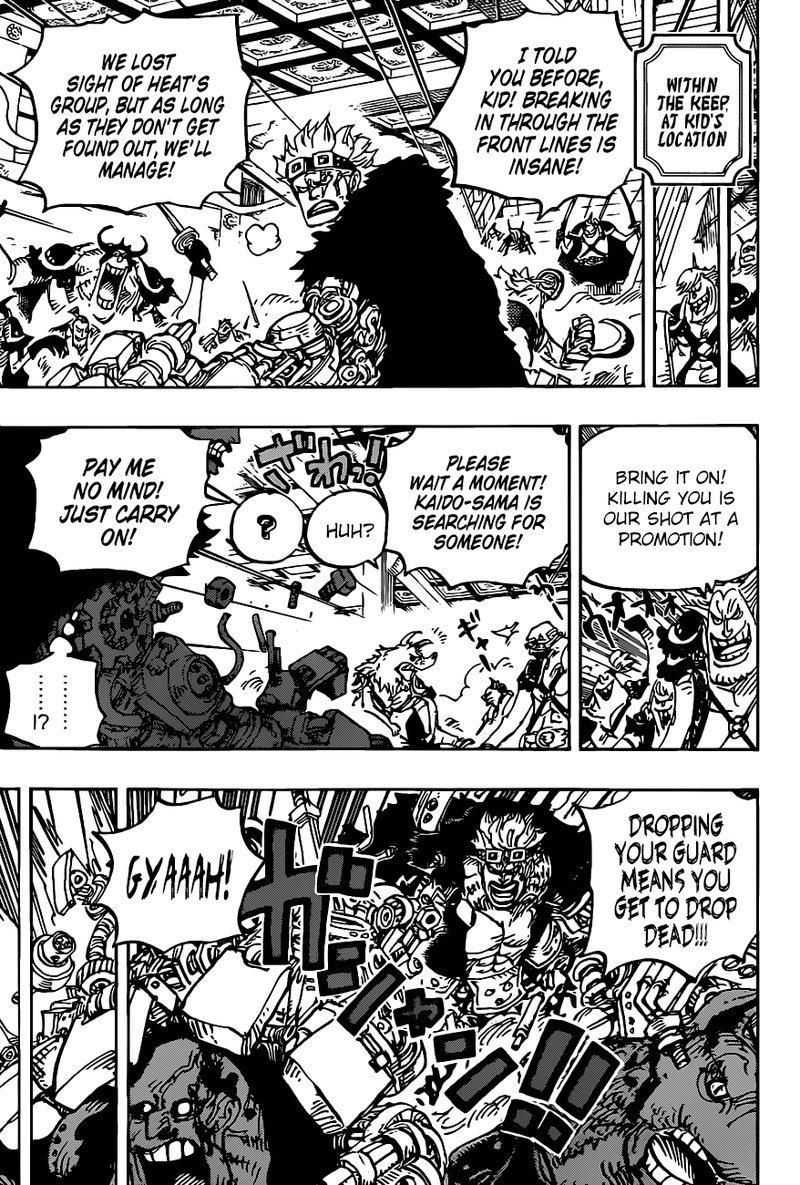 One Piece Manga Chapter 983 - Image 007