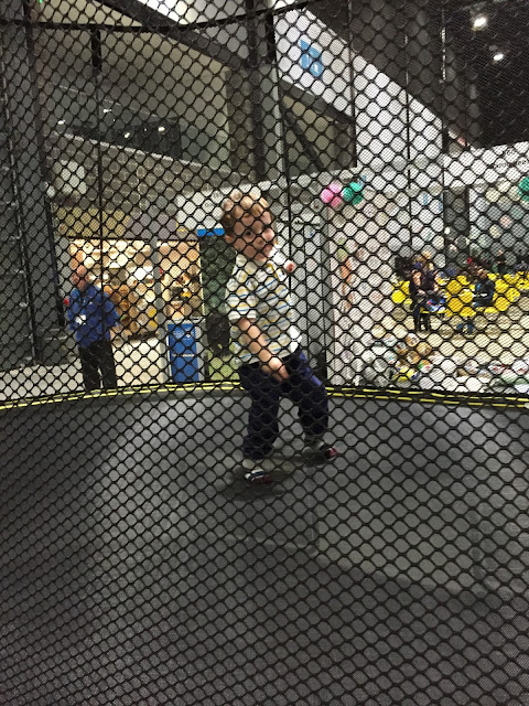 child on a Springfree trampoline