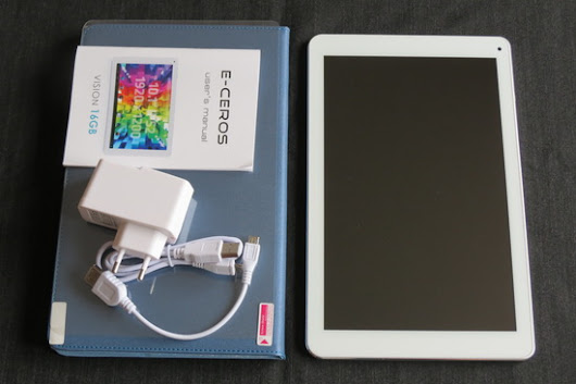 Photo Gallery: Unboxing E-Ceros Vision Tablet 16GB ~ China Gadgets Reviews