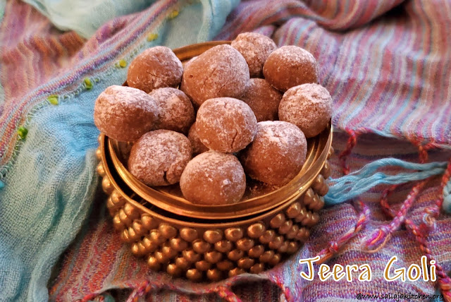 images of Jeera Goli Recipe / Cumin Candy / Tangy Jeera Goli / Digestive Candy