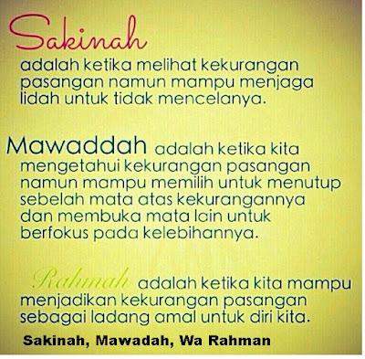 Pengertian Sakinah, Mawaddah, Wa Rahman - pustakapengetahuan.com