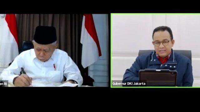Anies Lapor Wapres, Jumlah Korban Meninggal Akibat Corona di Jakarta400 Orang