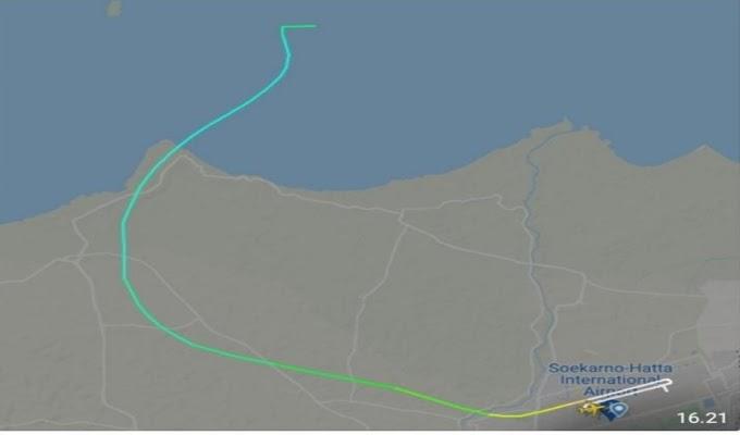 Menhub Sebut, Pesawat Sriwijaya Air Jatuh di Sekitar Pulau Laki