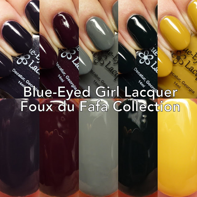 Blue-Eyed Girl Lacquer Foux du Fafa Collection