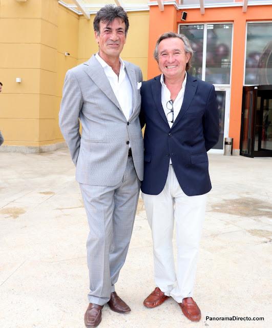 Pier Luigi Taliento y Alfredo Etchegaray en #PuntaDelEste