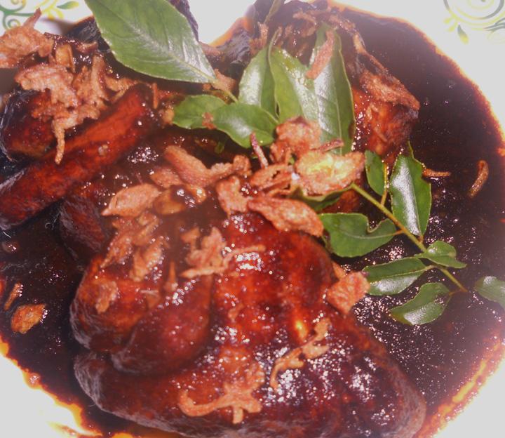 Ayam Masak Kicap Berempah Mamak