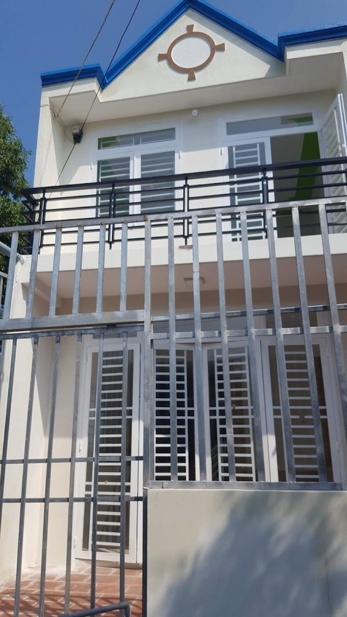 Cần bán nhà lầu trệt mới xây xong ở gần trường tiểu học Bình Hòa, Thuận An, Bình Dương
