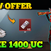 GET FREE 600+ UC IN PUBG MOBILE / NEW TRICK REDEEM UC NOW TO YOUR PUBG ACCOUNT