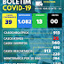 NOVO HORIZONTE-BA: BOLETIM E NOTA INFORMATIVO SOBRE O CORONAVÍRUS ( 17/12/2020)