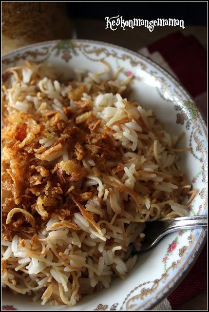 riz vermicelles libanais