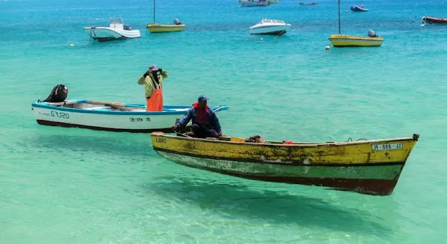 3. A thrill on top of the water  in Cape Verde