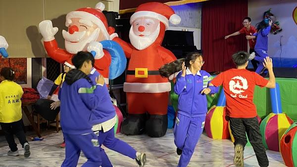 彰美獅子會聖誕晚會連續5年 伴慈生院生溫馨過節