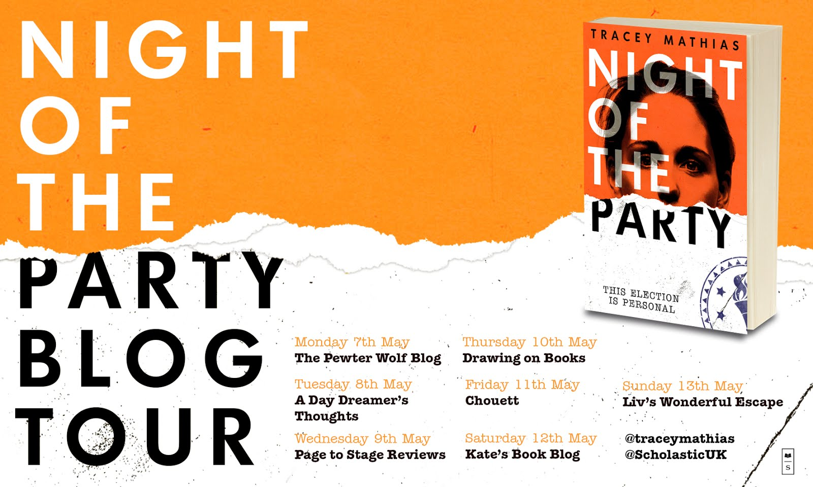 Night Of The Party Blog Tour