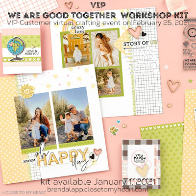 VIP We Are Good Together Workshop Kit