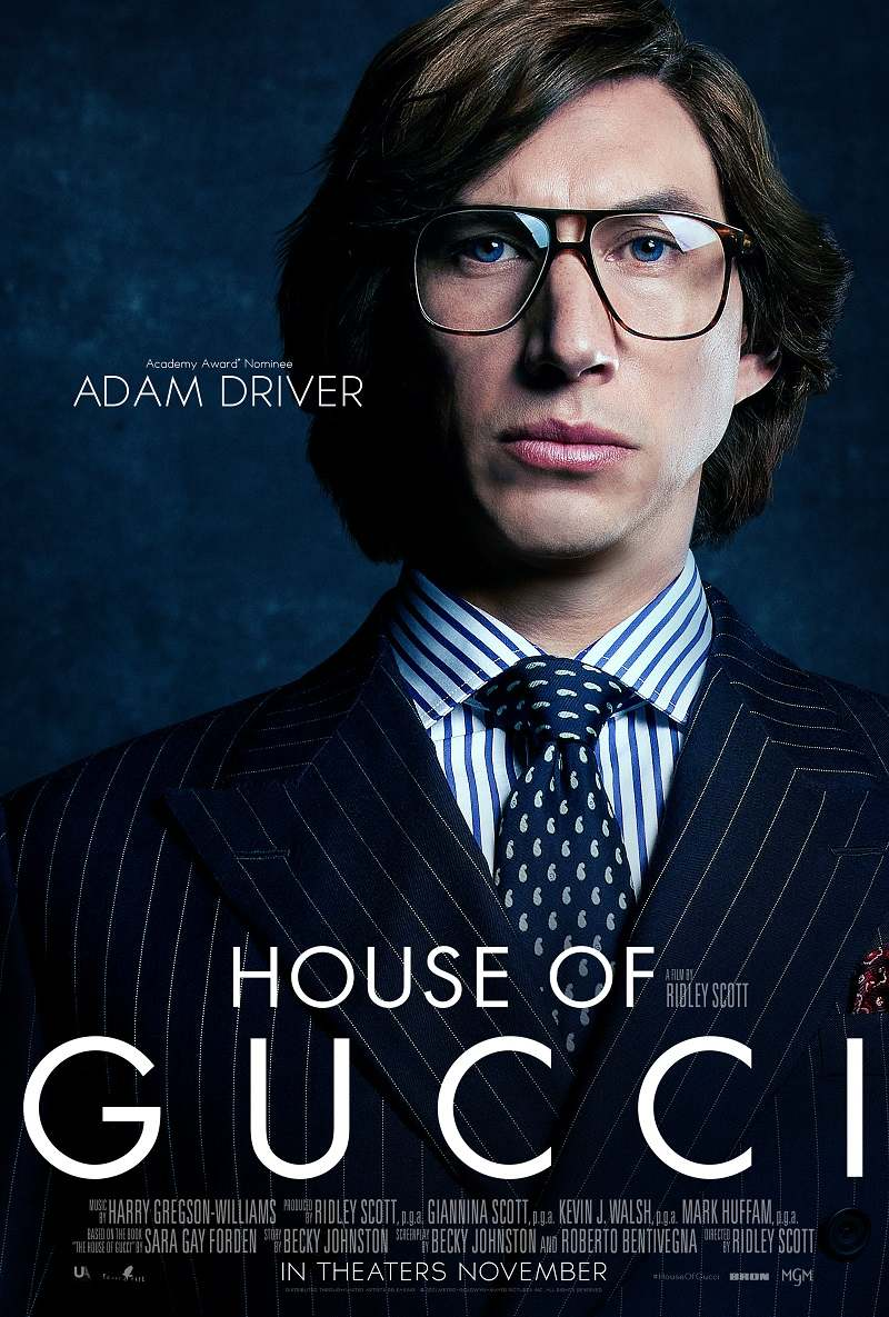 house of gucci poster adam driver