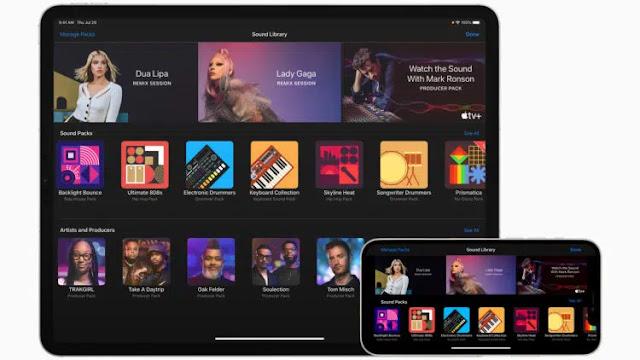 Apple Updates GarageBand and Adds Artist Sound Packs