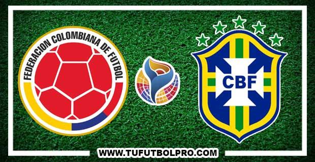 Ver Colombia vs Brasil EN VIVO Por Internet Hoy 24 de Enero 2017