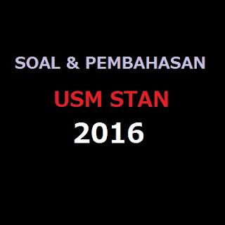 Unduh Soal dan pembahasan USM STAN 2016