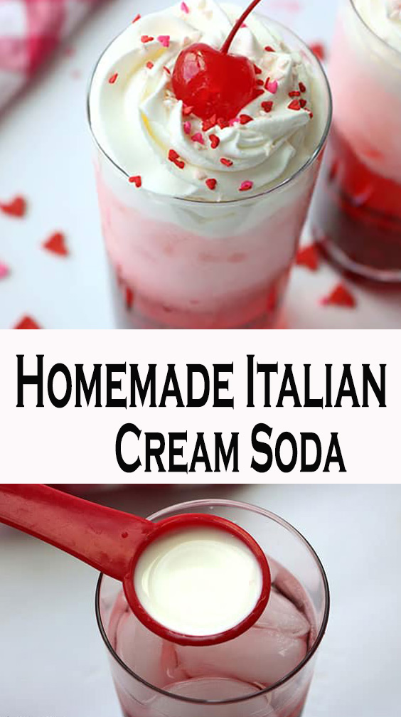 Homemade Italian Cream Soda