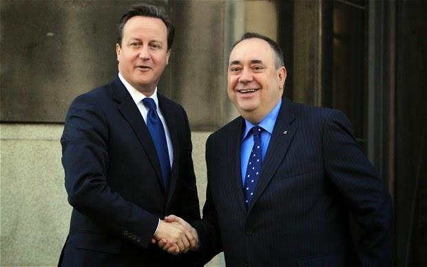 Independencia de Escocia del Reino Unido