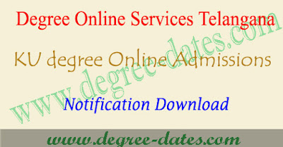 Dost KU degree admissions 2018 online apply web options TS/Telangana