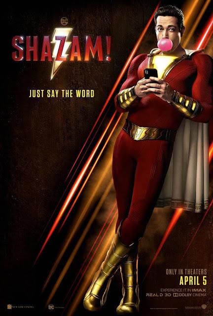 """Nuevo póster de """"Shazam!"""""""