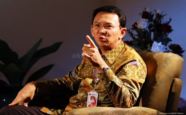 Dikaitkan Kasus UPS, Ahok: Kenapa Enggak Periksa Pak Jokowi?