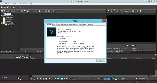 تحميل برنامج MAGIX VEGAS Pro 18.0.0.284 لتحرير الفيديو والصوت متعدد المسارات