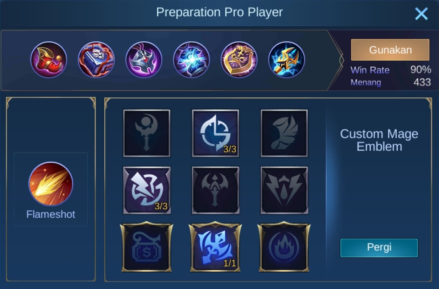 build item cyclops mobile legends (ML)