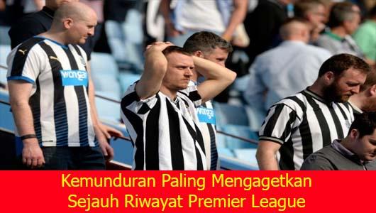 Kemunduran Paling Mengagetkan Sejauh Riwayat Premier League