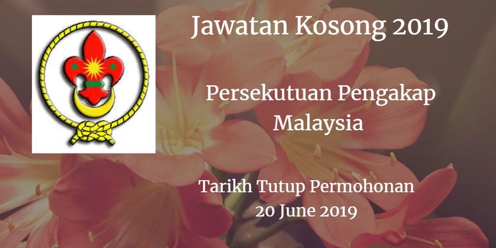 Jawatan Kosong Persekutuan Pengakap Malaysia 20 June 2019