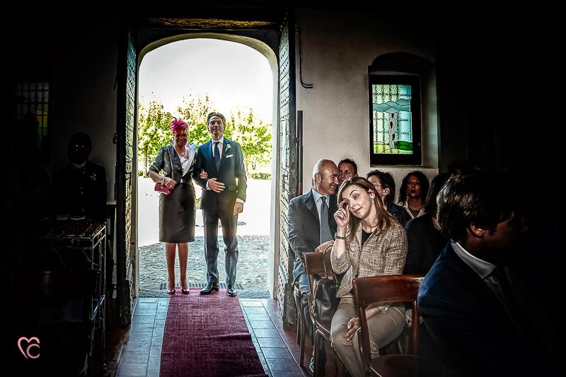 Entrata dello sposo, al Santuario della madonna di Celle
