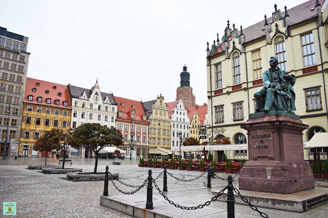 Plaza Rynek de Wroclaw, Polonia