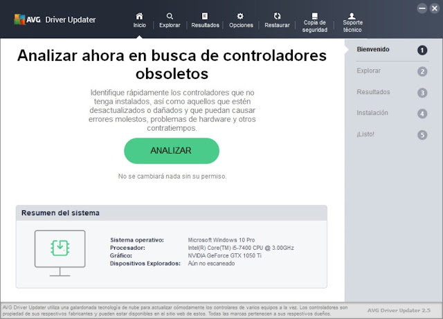 AVG Driver Updater Full imagenes