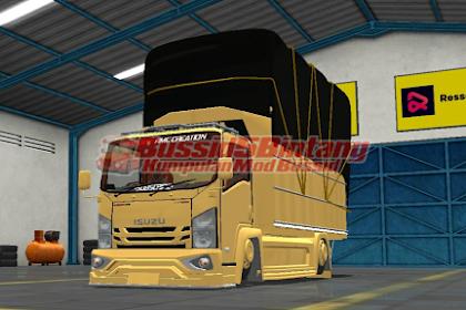 Mod Bussid Truck isuzu modifikasi