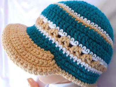 Crochet Baby Brim Hat