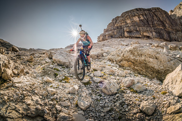 Mountainbike Tour Dolomiten Piz Lavarela 3055 m s.l.m. Sennes/ Fanes