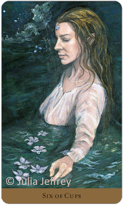 Tarot of the Hidden Realm Julia Jeffrey Six of Cups