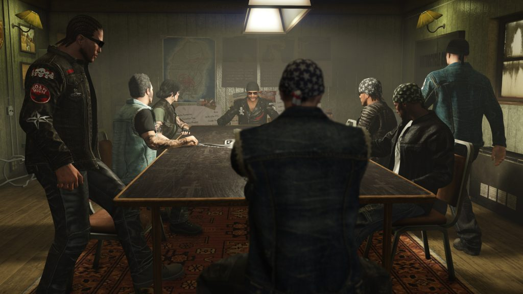 You can organize your own gang in your clubhouse.