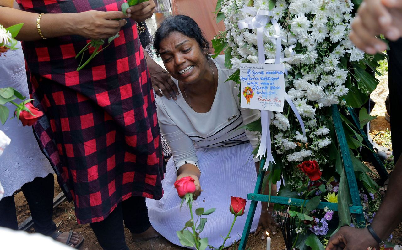 Unspeakable grief: 5 members of 1 family killed in Sri Lanka
