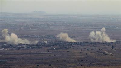 صافرات الإنذار تدوي في الجولان.. وإسرائيل تطالب السكان بدخول المخابئ